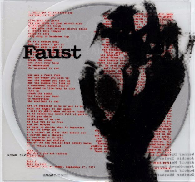 Original pressing of the first Faust LP