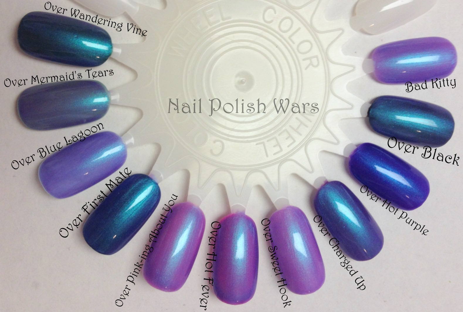 Nail Polish Wars: Elixir Lacquers - Bad Kitty LE
