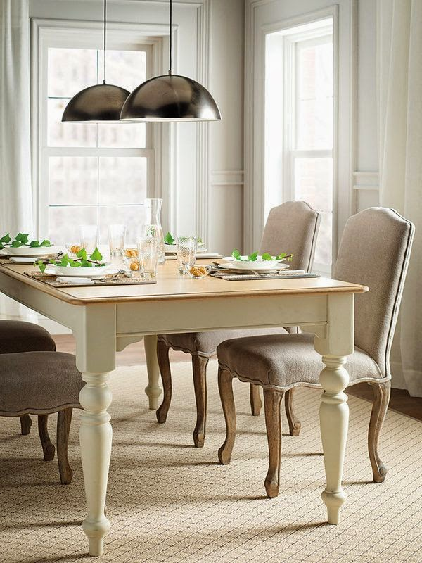 Casinha colorida para quem tem pouco espa o mesa de for Comedores tapizados