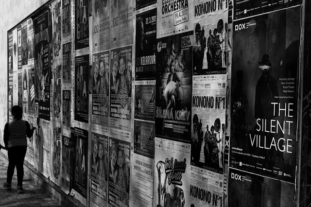 Hohenfels Volks: Wall with Posters