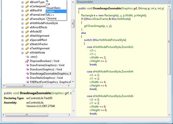 How toward View Source Code regarding .NET EXE