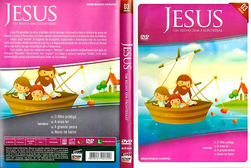Jesus - Um Reino Sem Fronteiras Vol. 3 - DVD-R