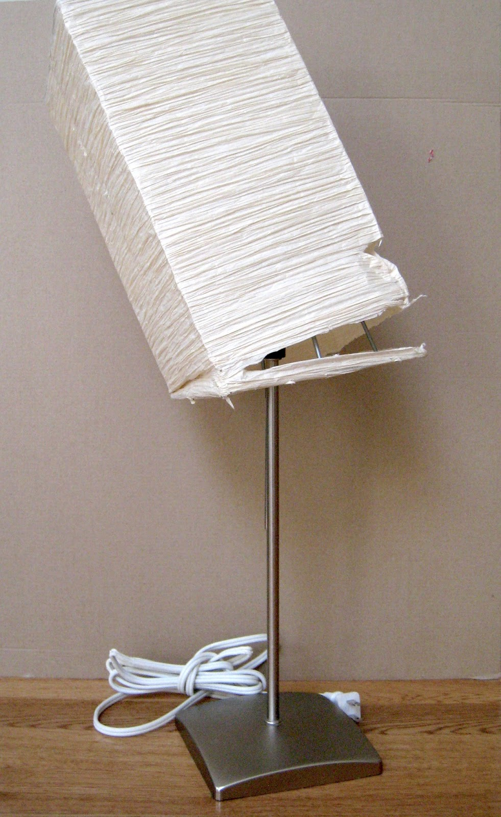 DIY: IKEA Orgel Lamp Shades - Part 1