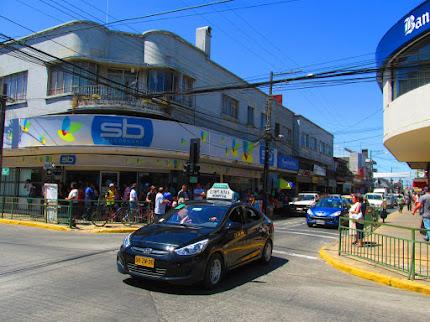 Calles céntricas de San Carlos diciembre 2015