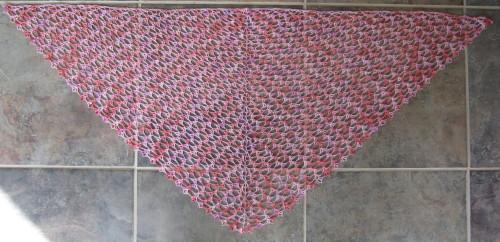 how to make princess diana crochet shawl