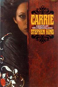 Portada original de Carrie, de Stephen King