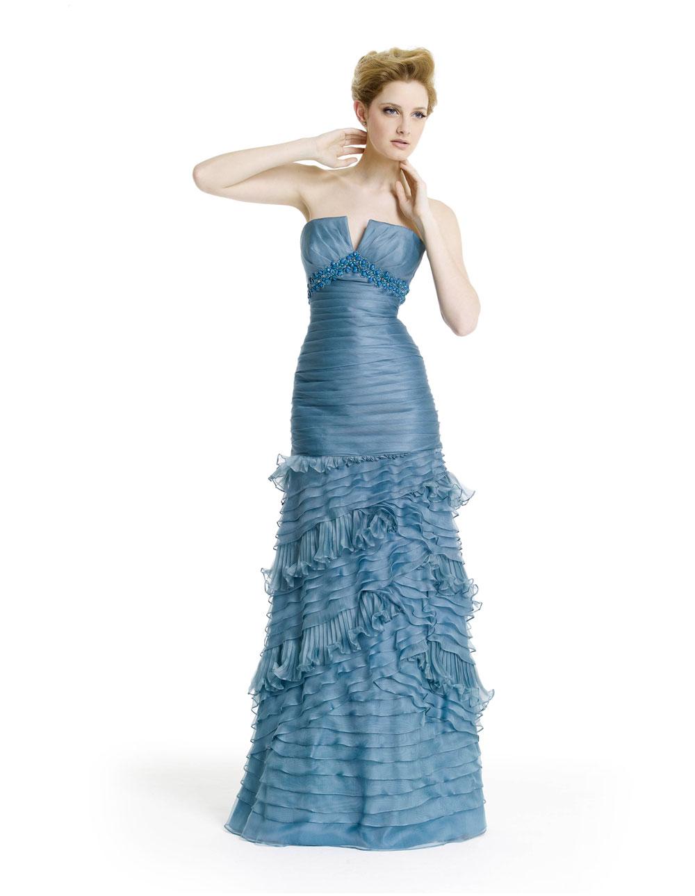 Moda y más: Vestidos de fiesta - Colección Alma Novia 2012
