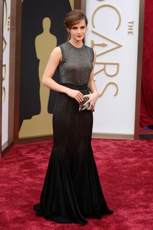 Oscars 2014 Red Carpet, Emma Watson