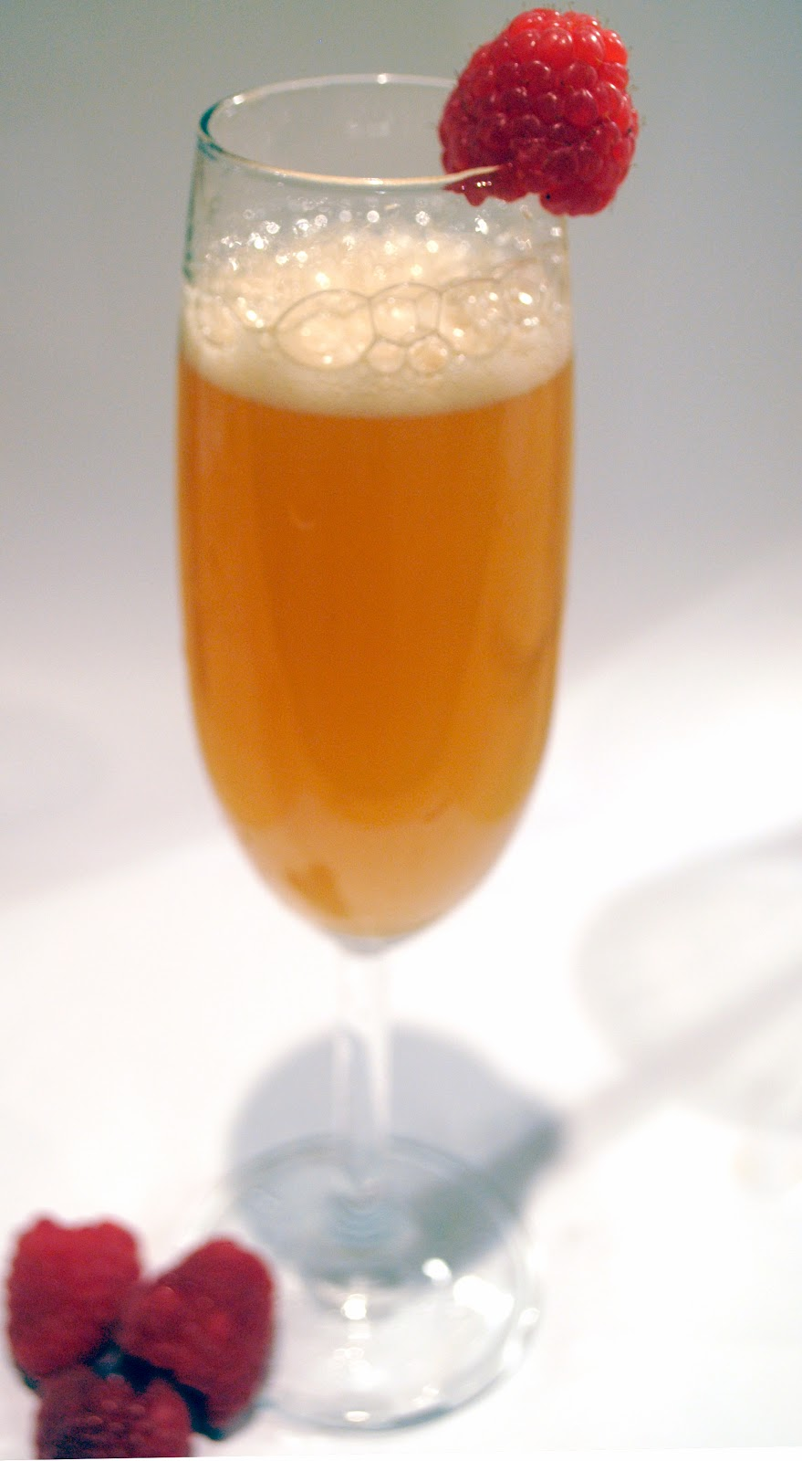The Bitter Peach Bellini Recipe — Dishmaps