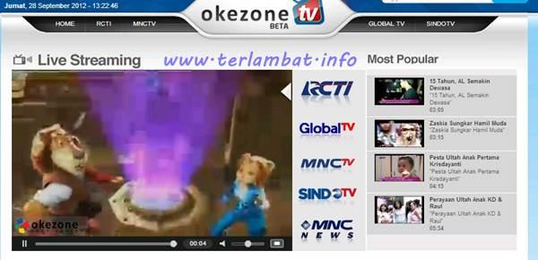 RCTI Streaming Terbaru 2012