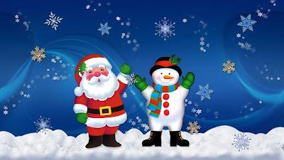 Contoh Desain Kartu Natal