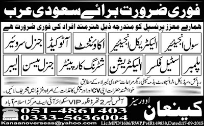 Technical Jobs in Saudi arabia jobs