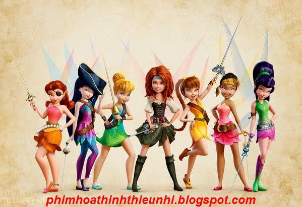Phim hoạt hình Tinker Bell và Hải Tặc Tiên