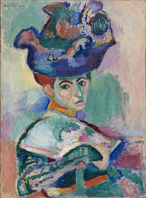 Henri Matisse Woman with a Hat from Gertrude and Leo Stein in oil