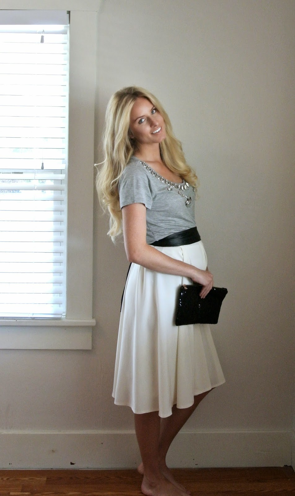 Box pleat skirt tutorial, includes step by step instructions