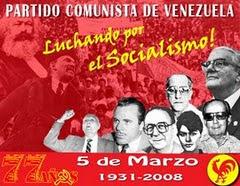 XIV CONGRESO_PCV::PROCESO DE REFORZAMIENTO IDEOLÓGICO, POLÍTICO Y ORGÁNICO DE MILITANCIA COMUNISTA