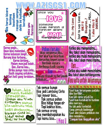 Kumpulan Wallpaper kata cinta atau romantis