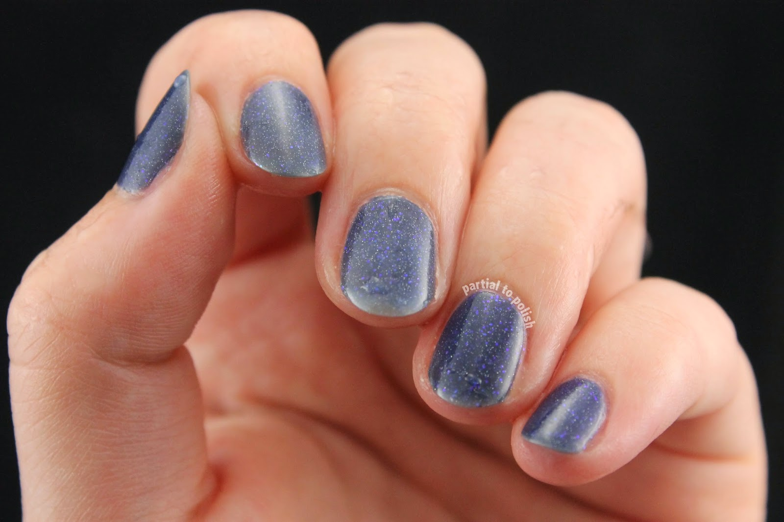 Polished by KPT Bleu Is Beautiful Swatch & Review