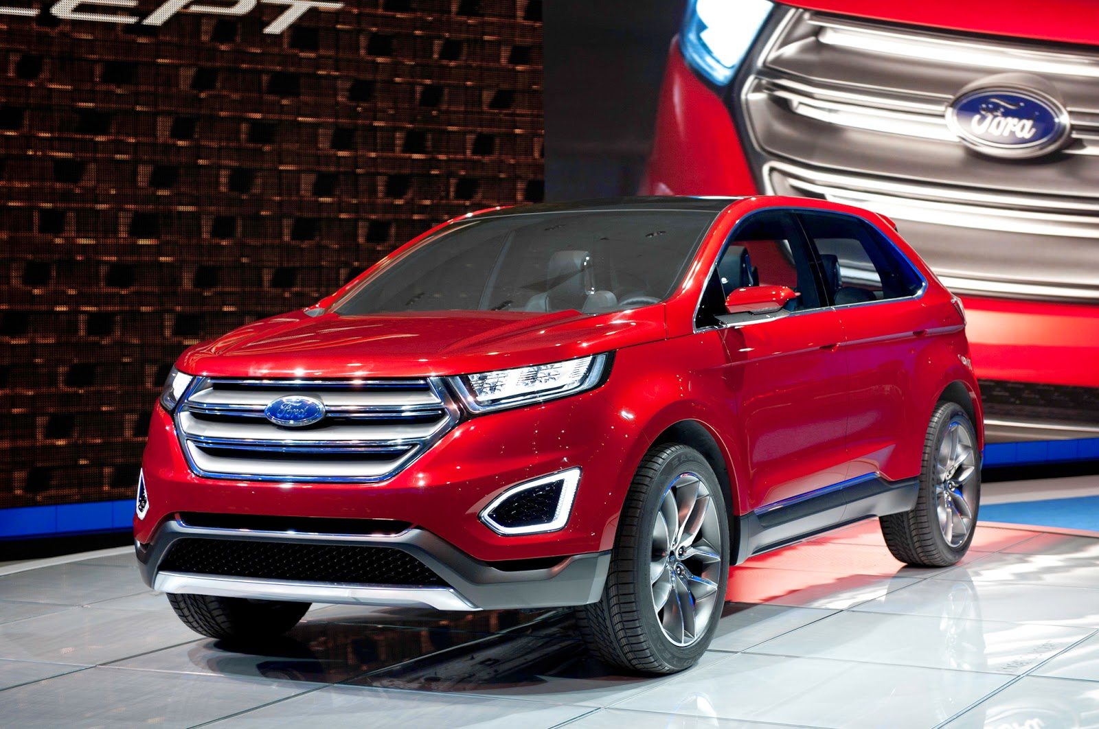2015 ford edge redesign release date price specs and interior. Black Bedroom Furniture Sets. Home Design Ideas