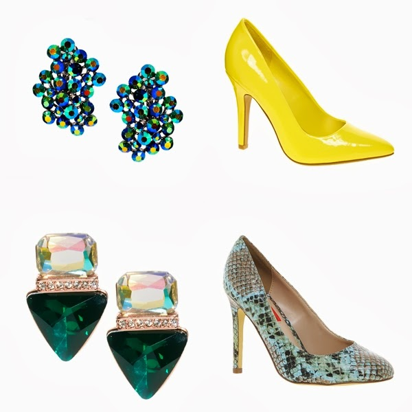 chandelier earrings,pointed toe heels,yellow pointy toe shoe