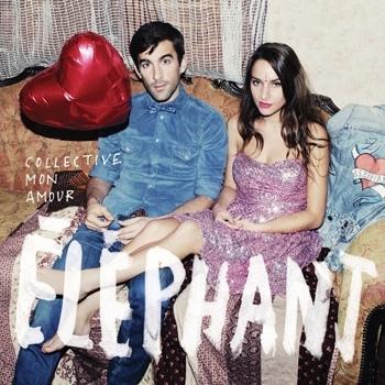 Collective mon amour,Éléphant,pop,portada,disco