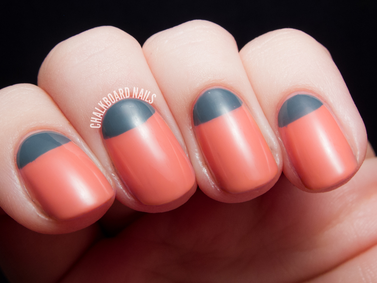 Sweet and Stormy Half Moons - Nicole by OPI Carrie Underwood ...