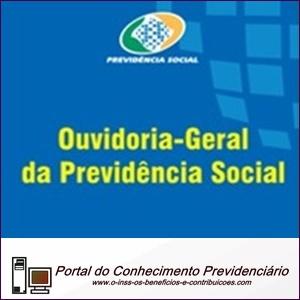 O INSS e a Ouvidoria-Geral da Previdência Social.