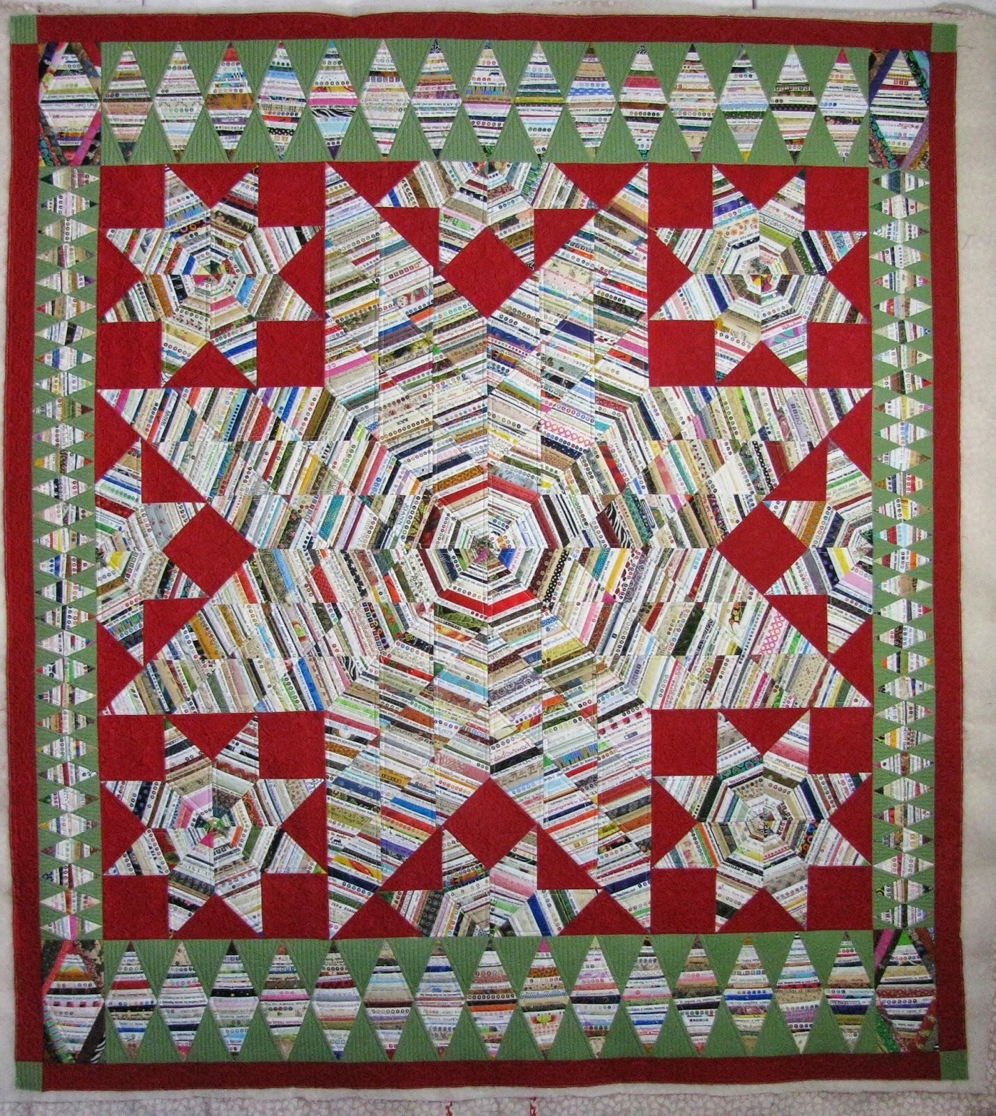 Amazing Quilts: The Secret Life Of Mrs. Meatloaf: Selvage Star Of Bethlehem