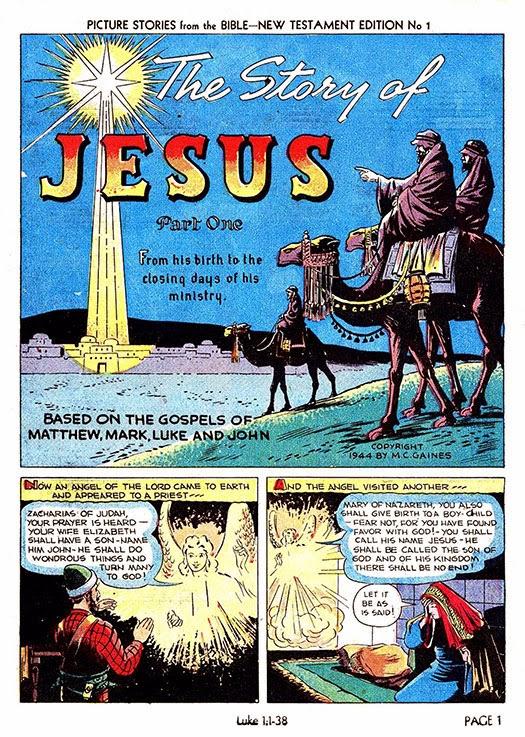 Picture Bible Comic of Bible Comics