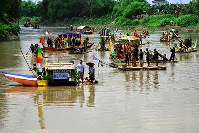 Gambar Festival Gethek di Taman Satwa Taru Jurug Solo