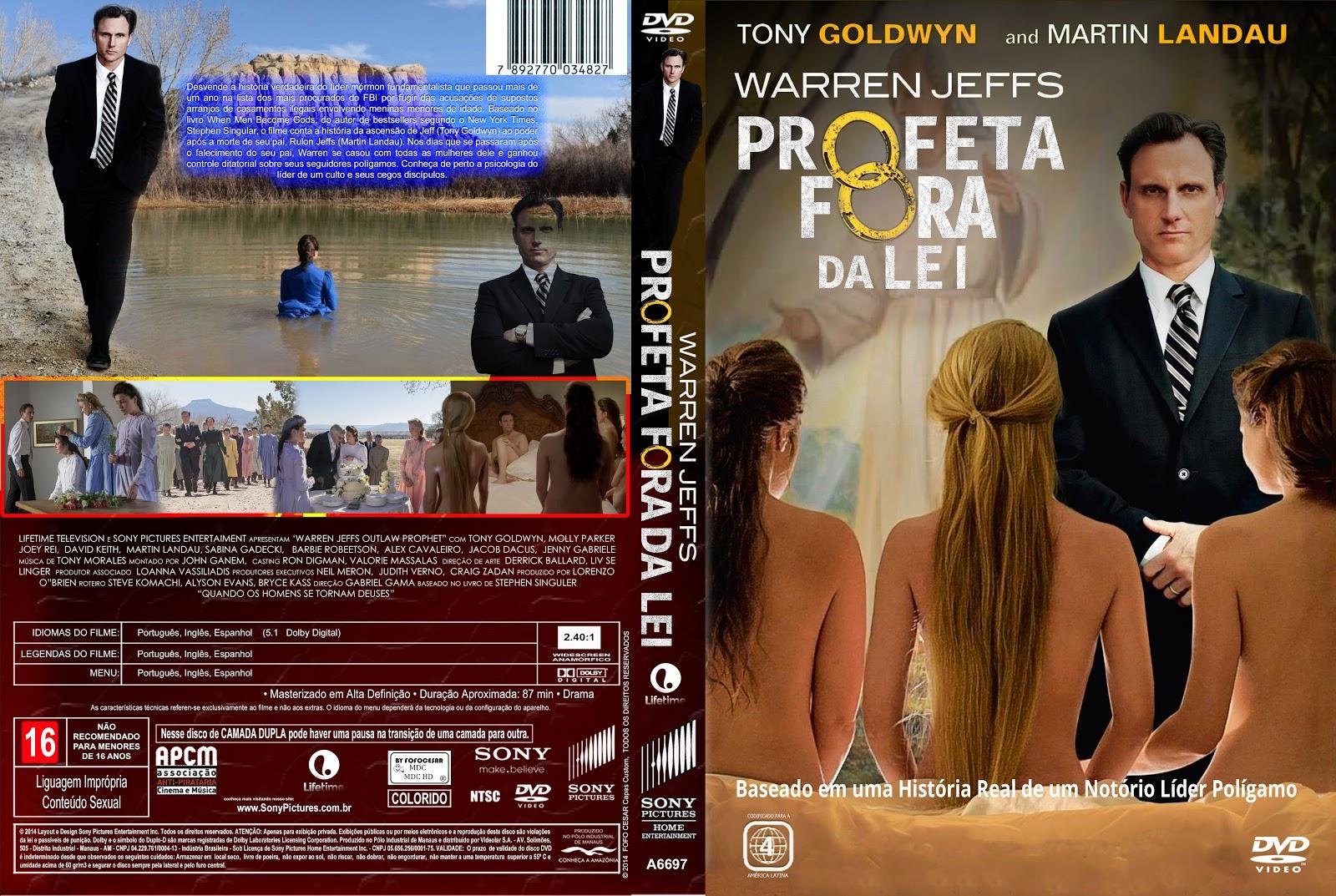 Capa DVD Profeta Fora Da Lei