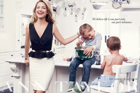 Kate Hudson for Anne Taylor A/W 2013