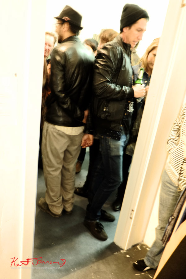 Leather jackets, mens style, Kaleidoscope gallery - Photo by Kent Johnson.