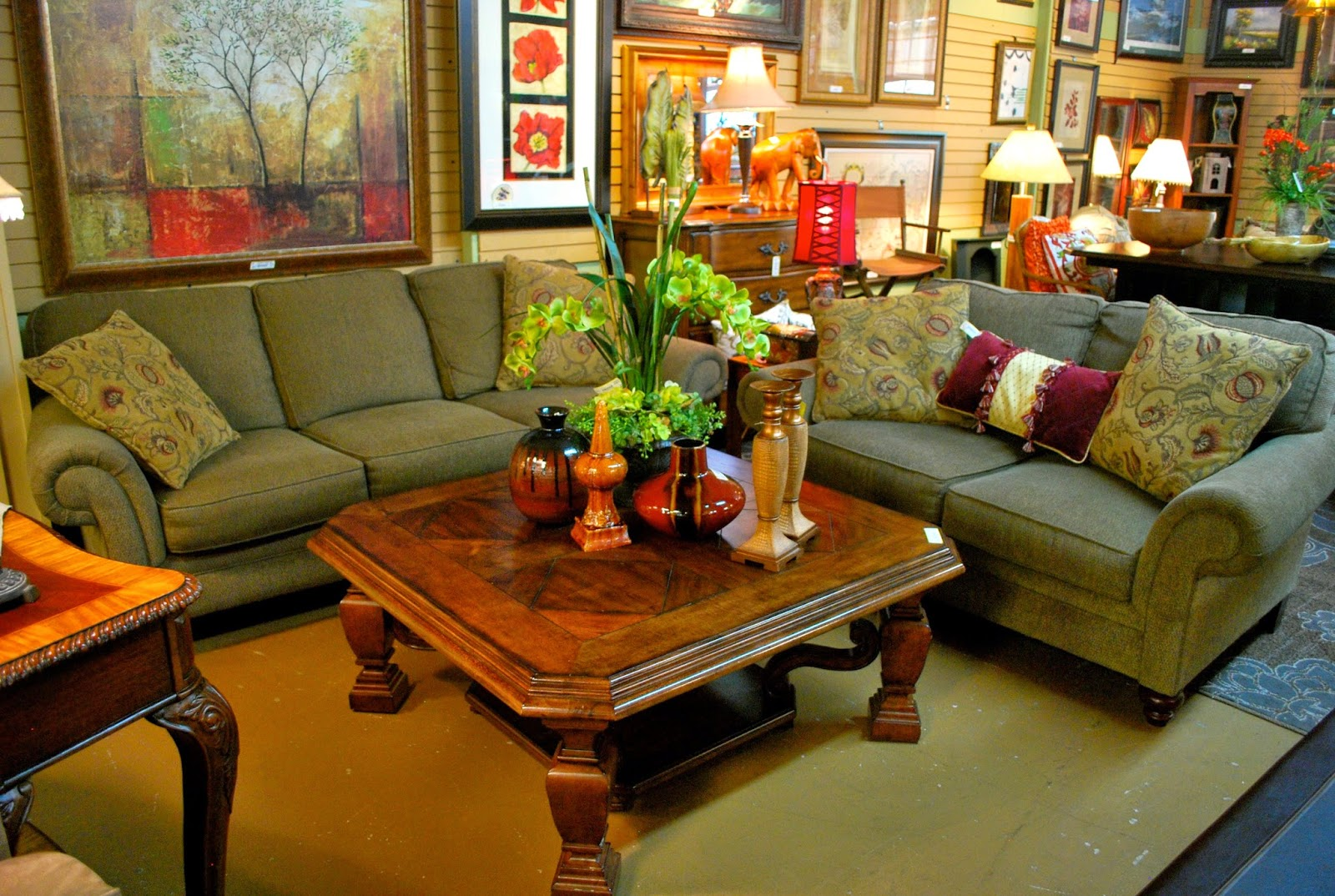 Luxury home furnishings for less at fun finds and designs atlanta consignment stores Home furniture for less