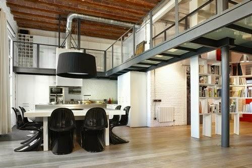 Gallart grupo el blog suelos y puertas de madera en for Decoracion loft industrial