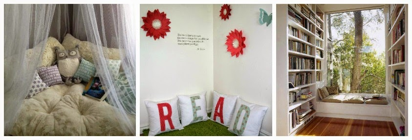 Create a book corner in your home