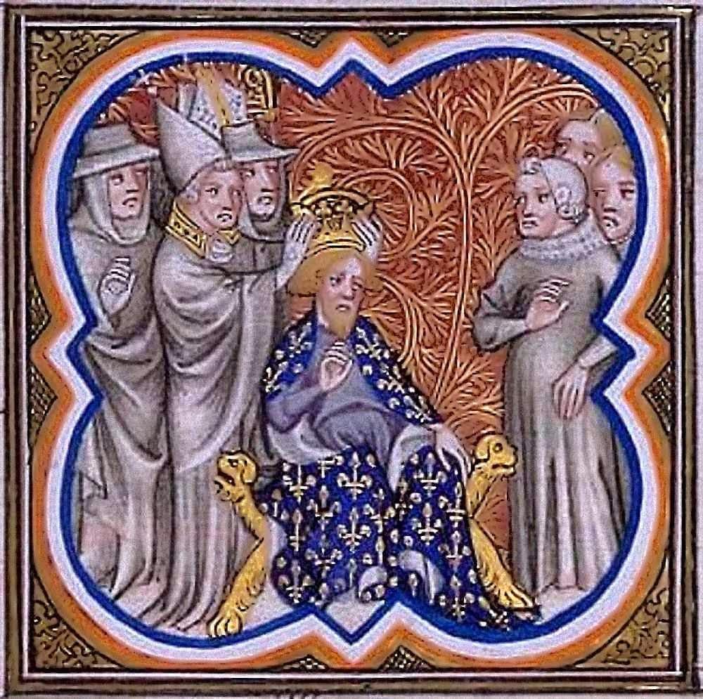 Coronación de Carlomagno por el Papa San León III