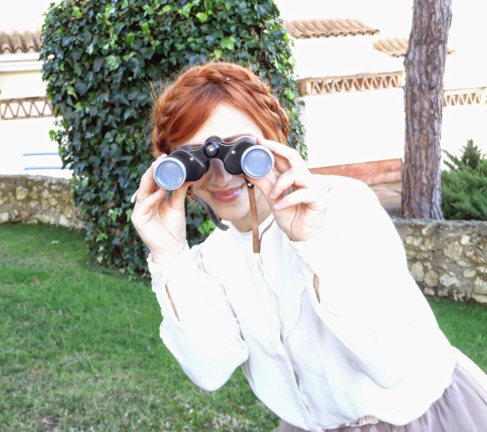 binoculares prismáticos