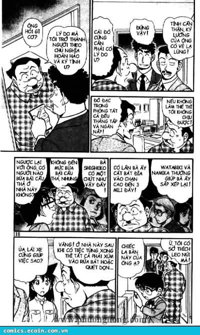 Detective Conan - Thám Tử Lừng Danh Conan chap 497 page 12 - IZTruyenTranh.com