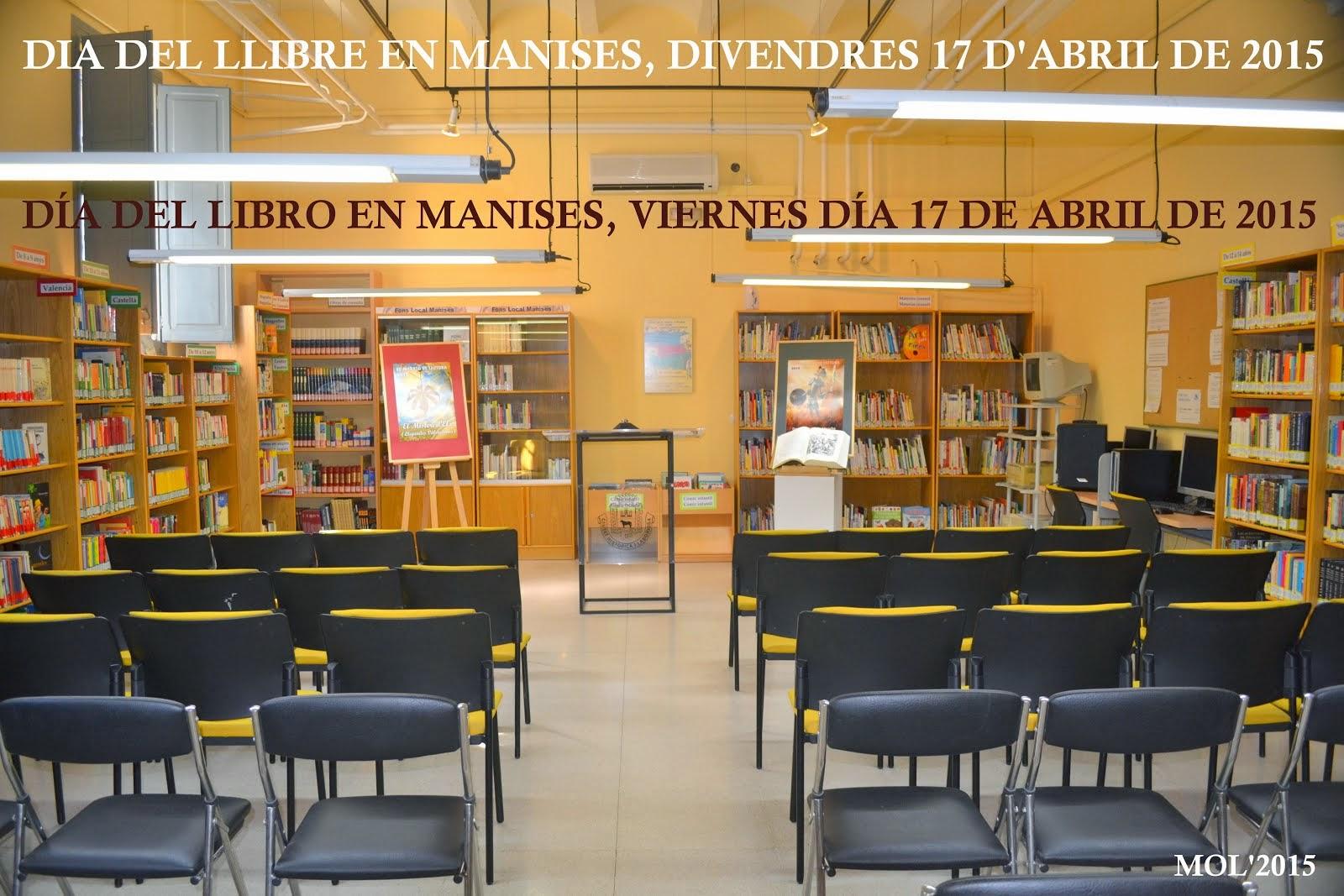MARATÓN DE LECTURA EN CONMEMORACIÓN DEL DÍA DEL LIBRO EN MANISES
