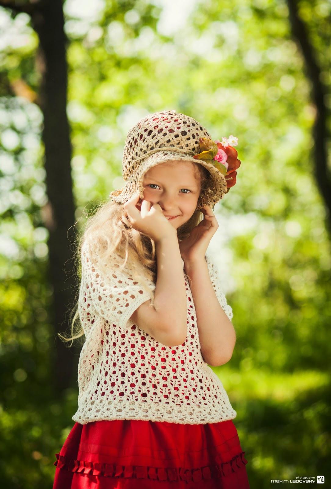 яркая и смешная фотосессия детей