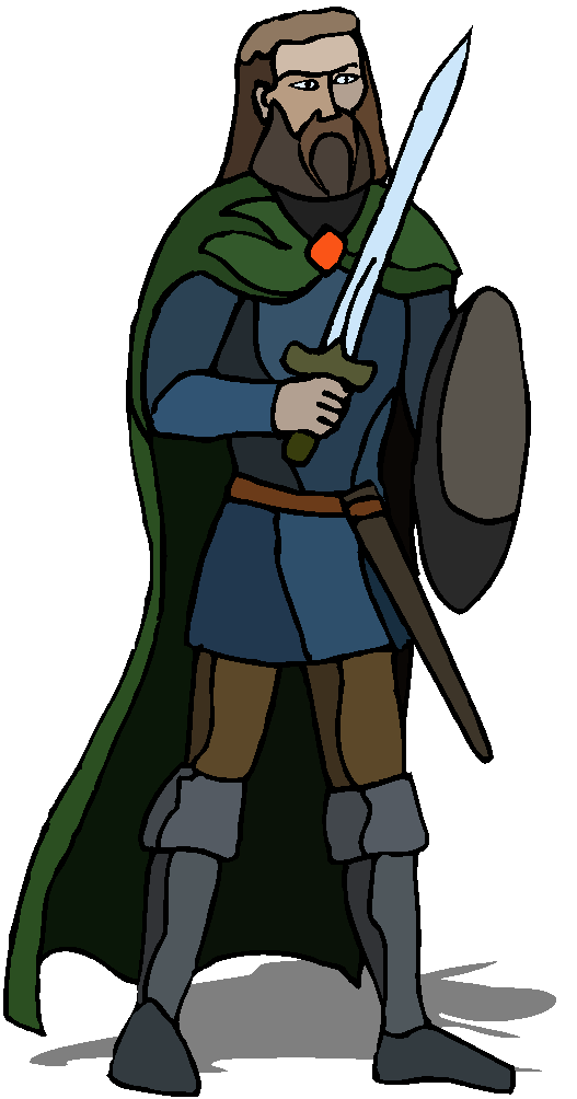 Warrior Ready to Fight Free Clipart