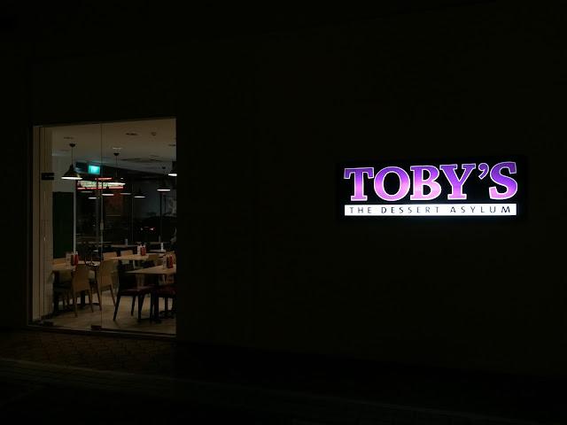 Toby's Dessert Asylum at Tradehub21 - Jurong East