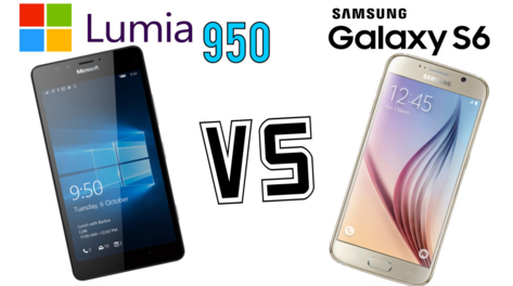 Samsung Galaxy S6 vs Microsoft Lumia 950 in Bangladesh
