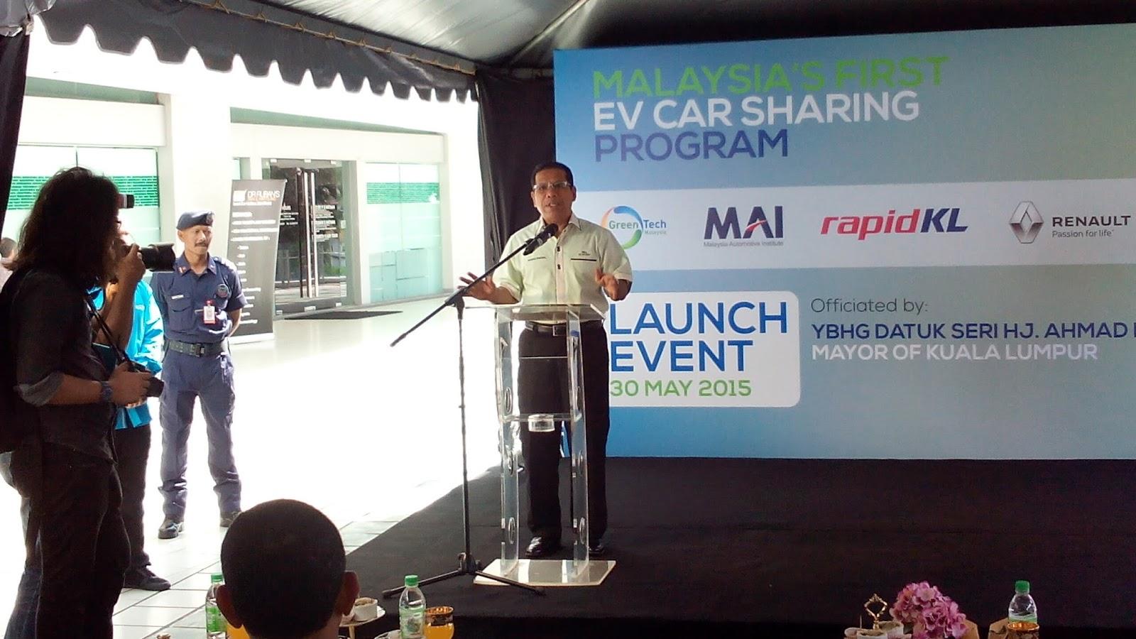 Kenderaan Elektrik Pertama Malaysia