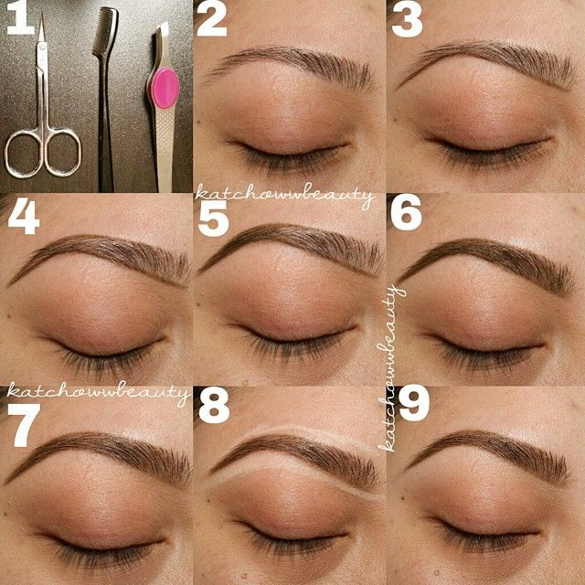 How to Shape and Fill in Your Eyebrows - B & G Fashion