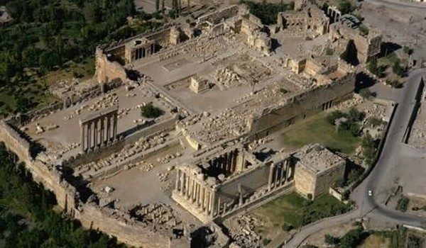 Las Ruinas de Baalbek (Líbano)