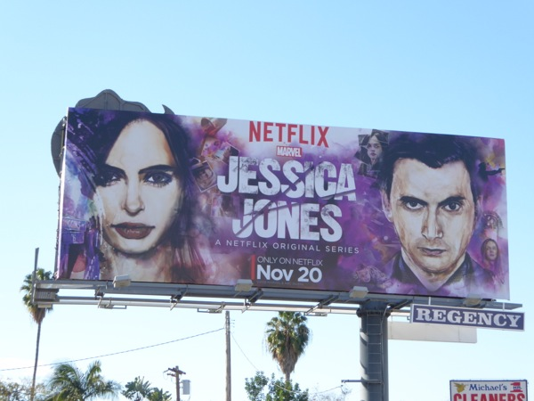 Jessica Jones season 1 Kilgrave billboard
