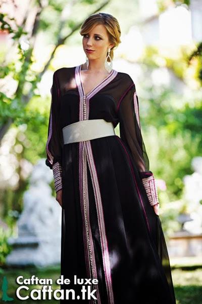 Takchita noire haute couture 2014