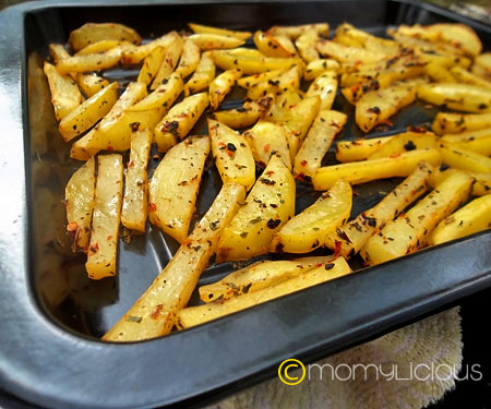 Hot & Spicy Baked Potato
